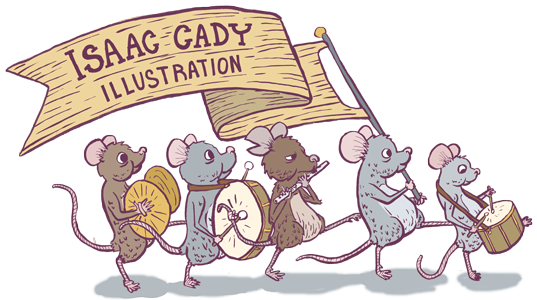 Isaac Cady Illustration
